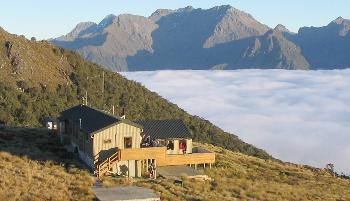 Luxmore-Hut Kepler Track