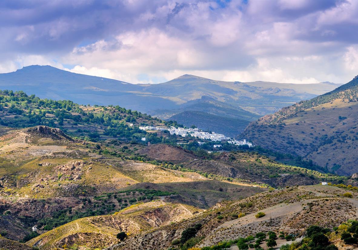 Granada und die weissen Dörfer Andalusiens