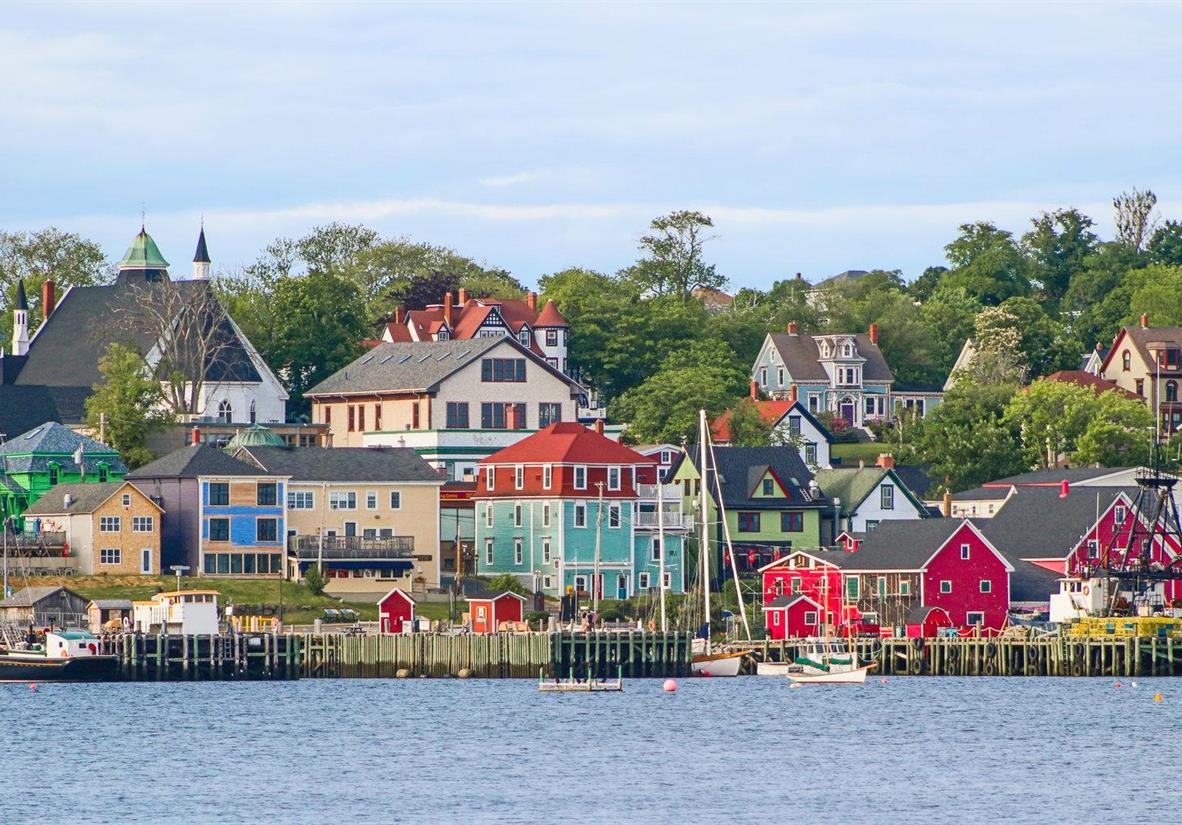 Explore Lunenburg, a UNESCO preserved settlement