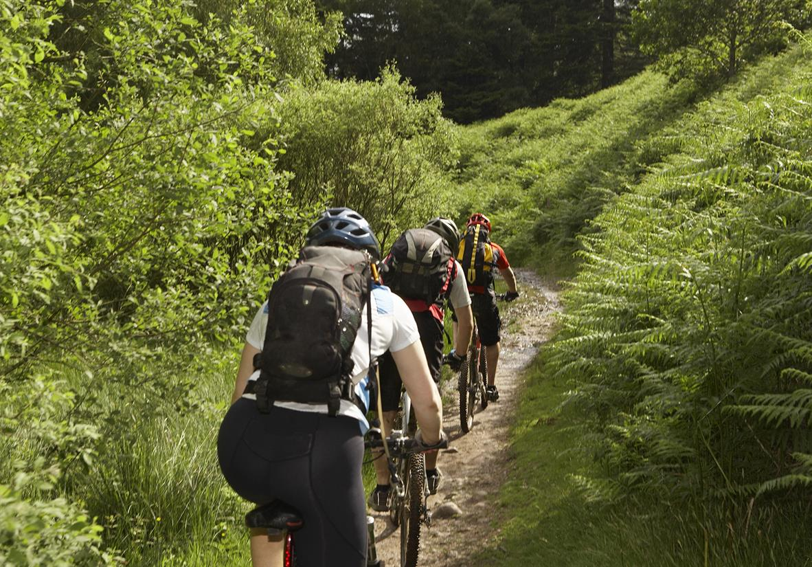 Cycle through the Scottish Highlands