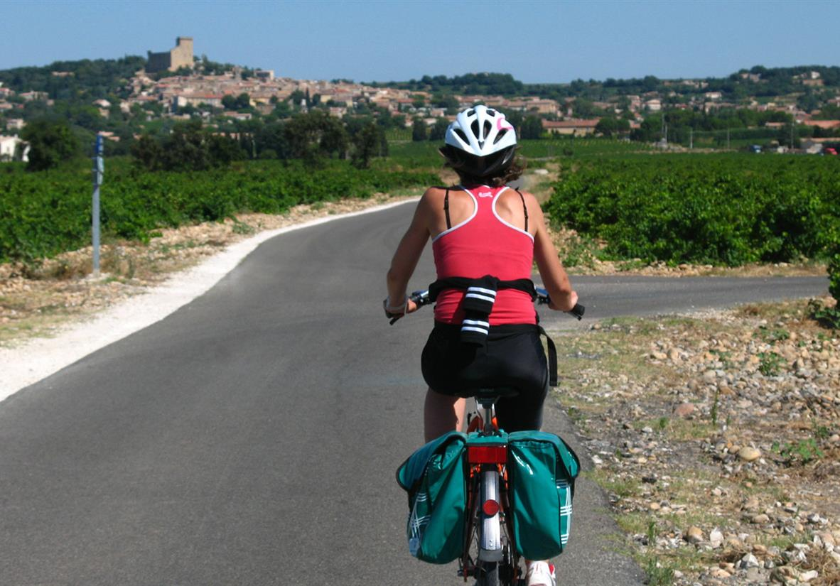 Self-guided cycling in Provence