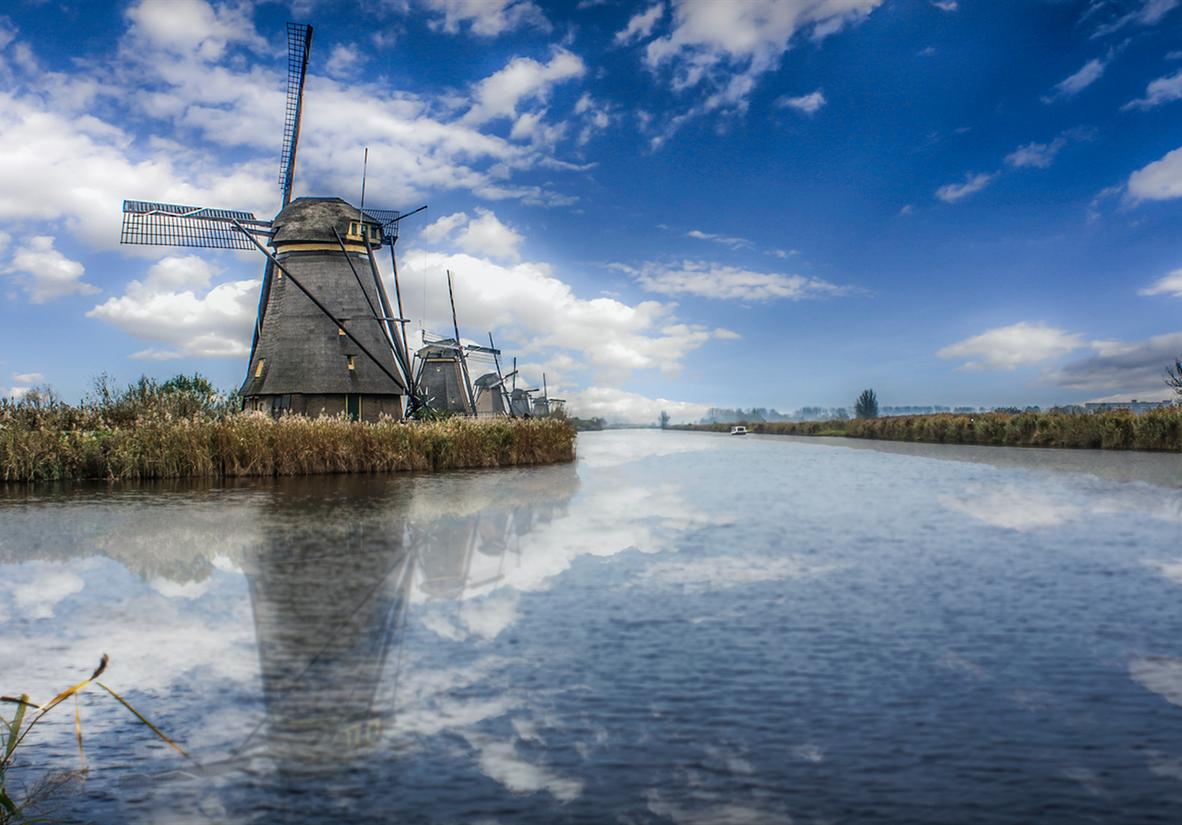 Kinderdijk, a UNESCO World Heritage Site