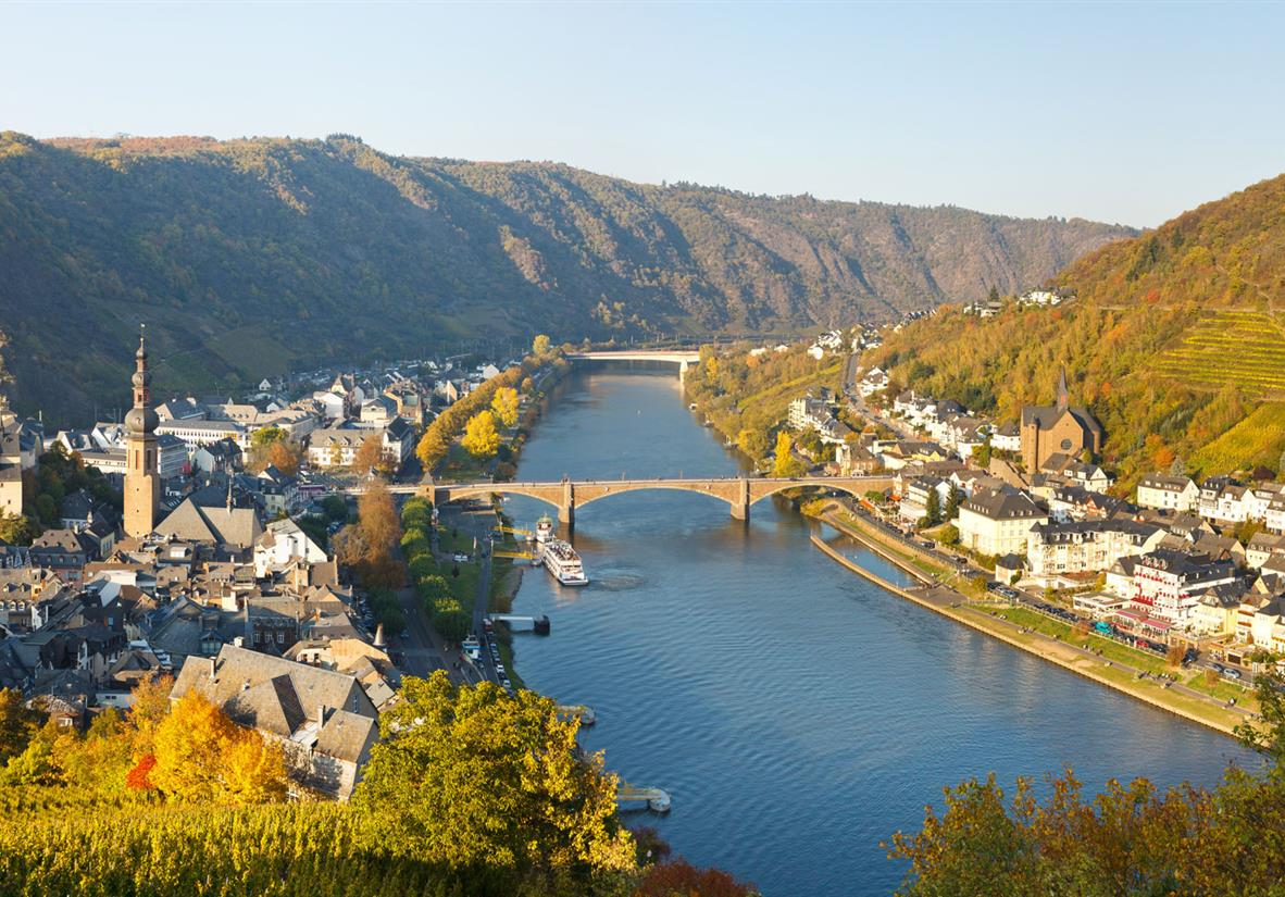 Cruise and cycle your way down the Moselle River