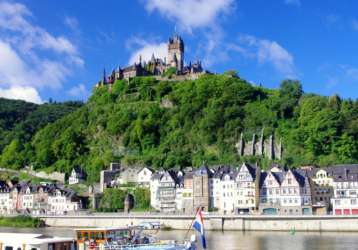 The castle in Cochem