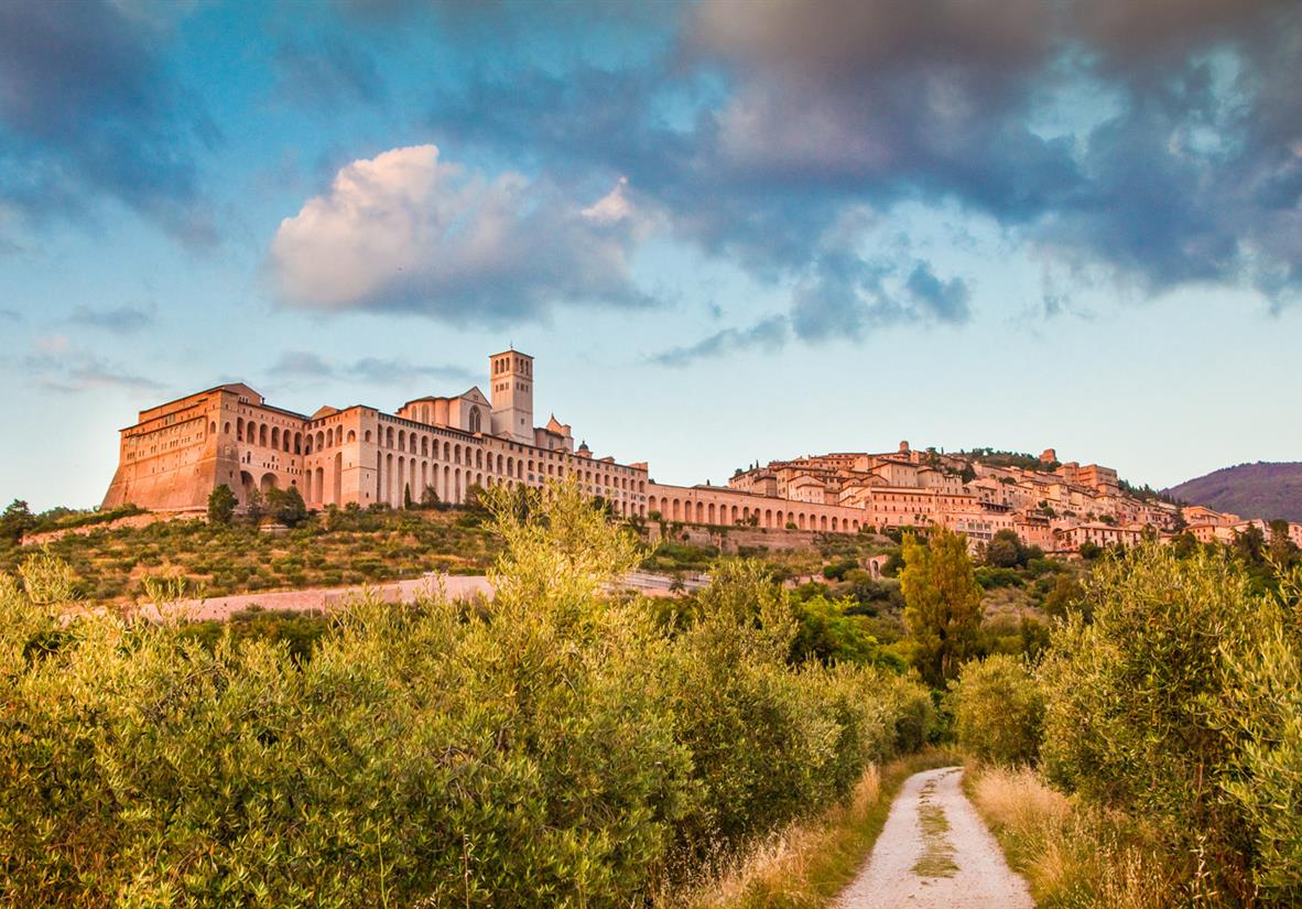 The UNESCO town of Assisi