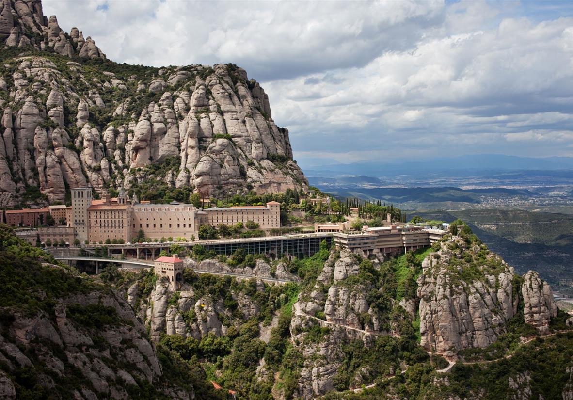 Visit the iconic Montserrat Monastery