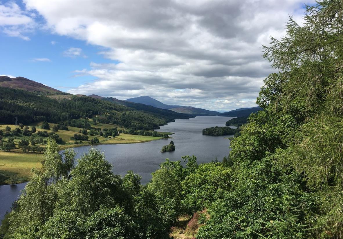 The Queens Viewpoint over Loch Tummel