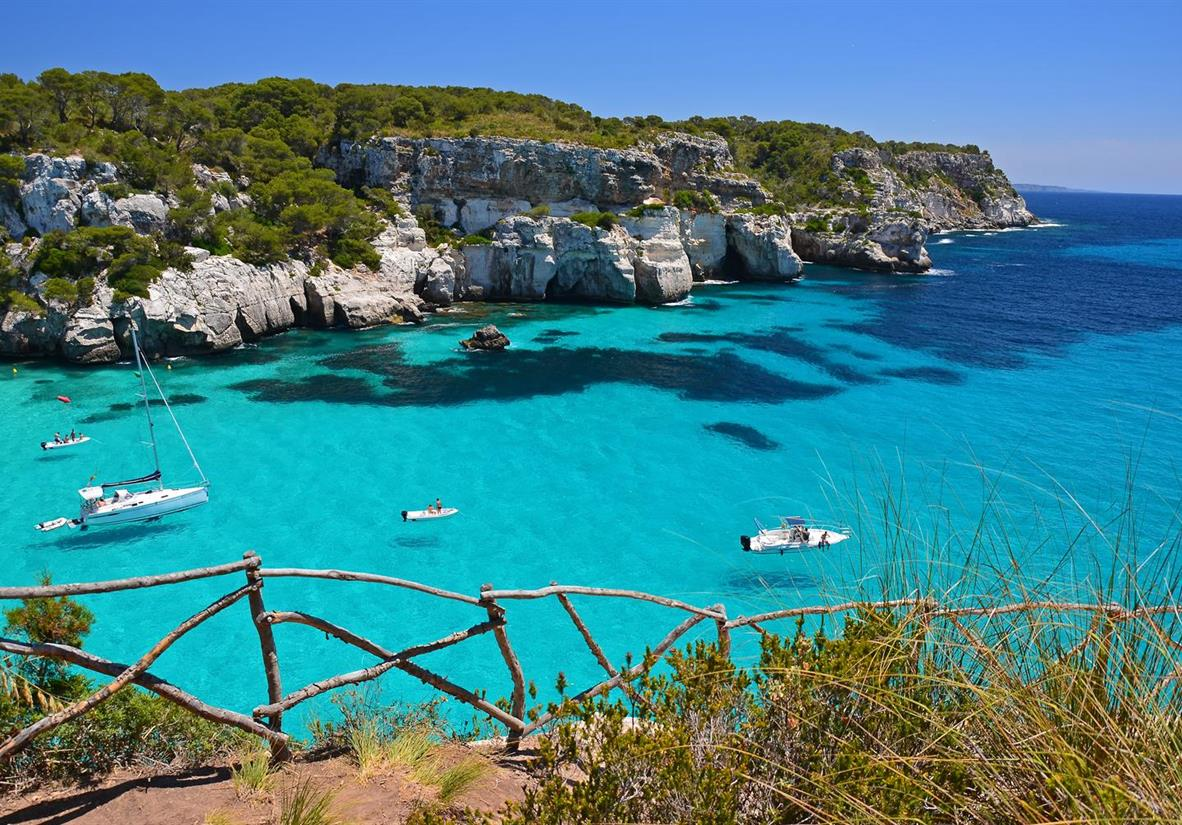 Macarella Bay, Menorca's stunning coastline