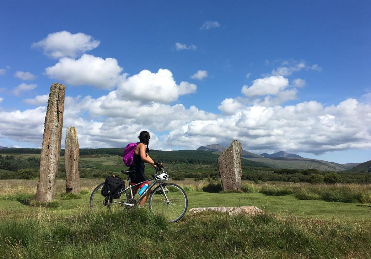 Visit the Machrie Moor Standing Stones