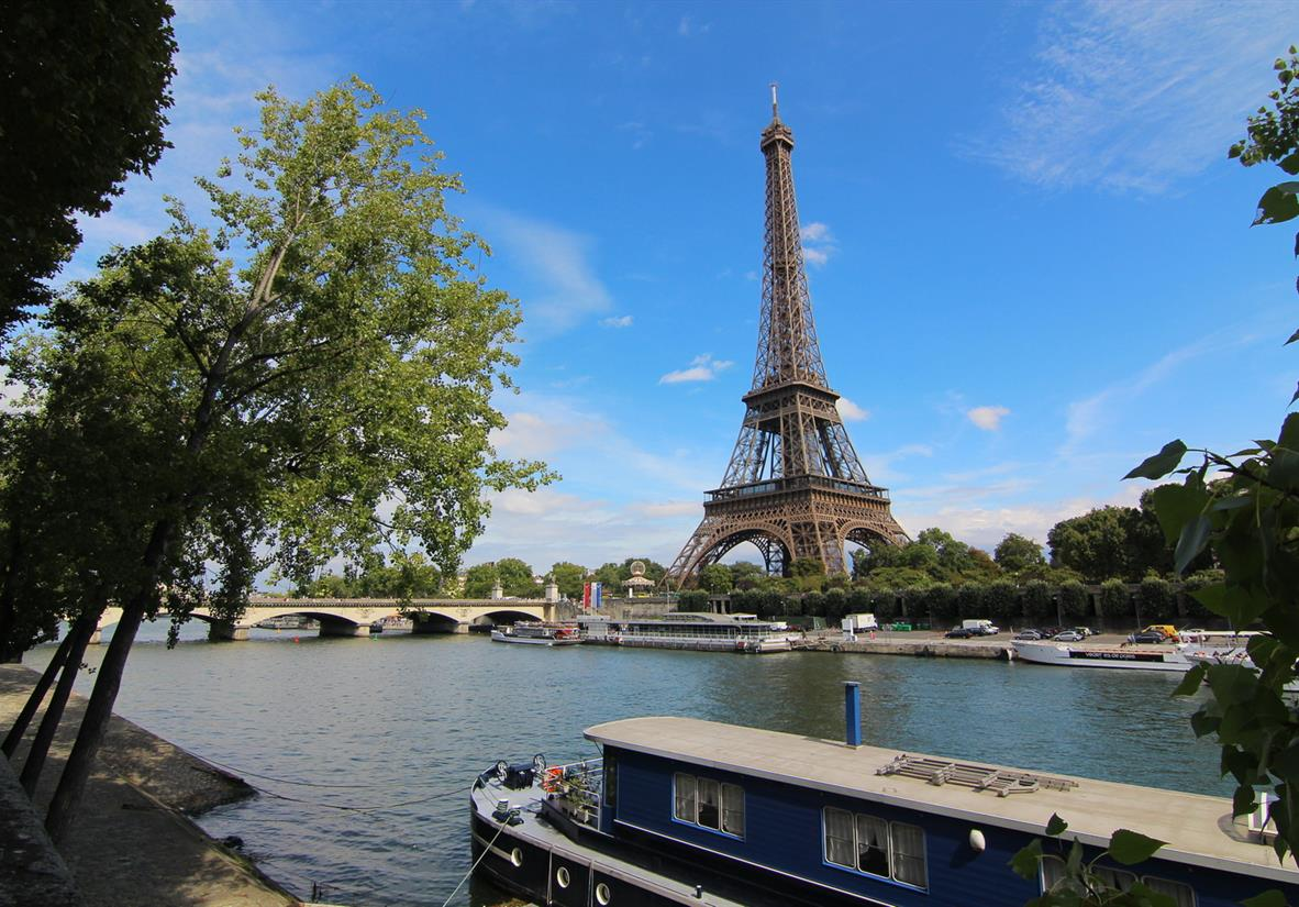 Eiffel Tower & River Seine