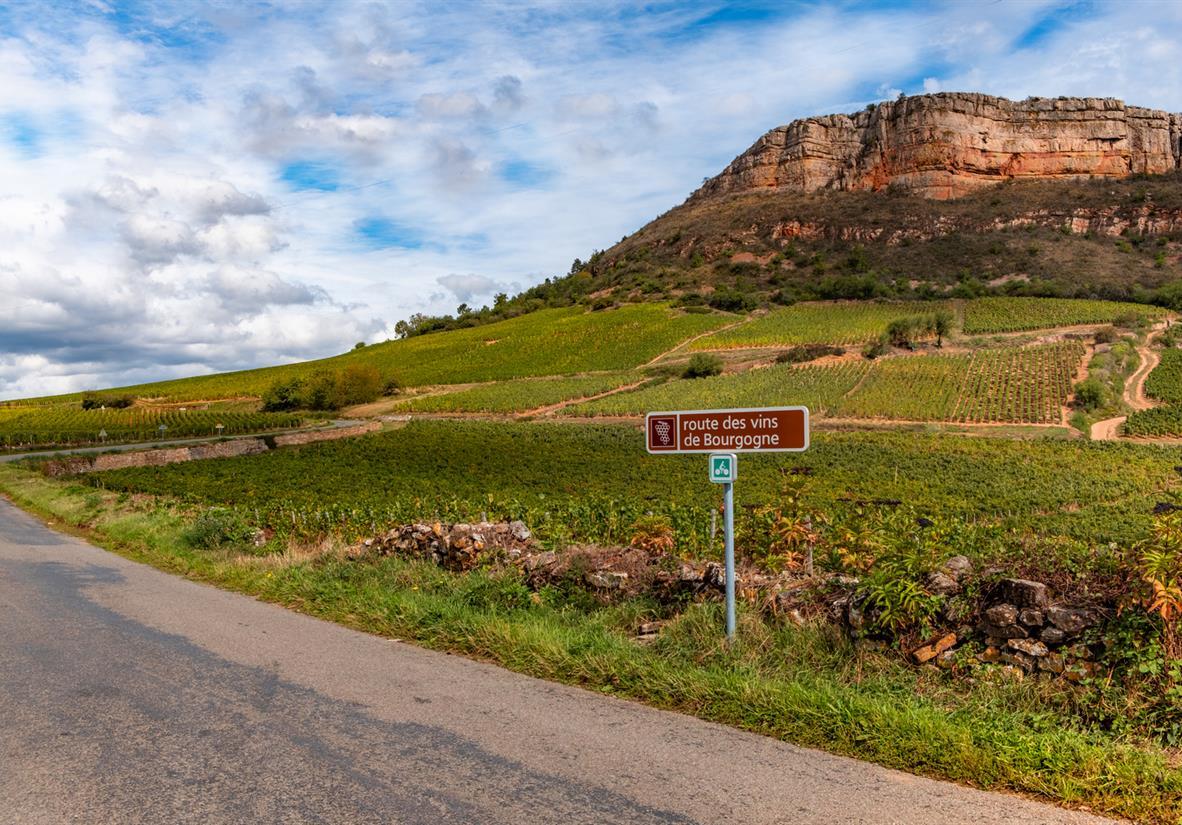 Folgen Sie der Burgund Wein-Route im Sattel