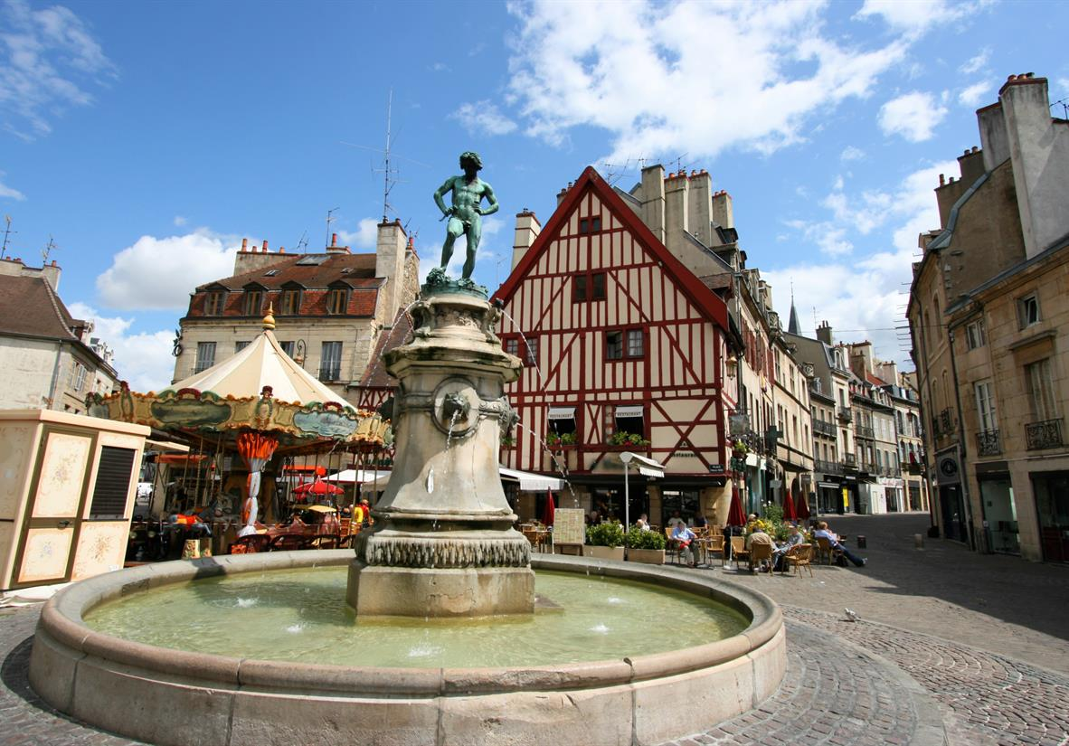 The town of Dijon