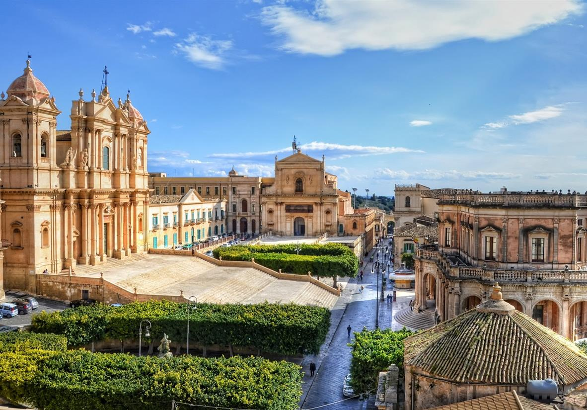 Noto, one of Italy's most beautiful towns