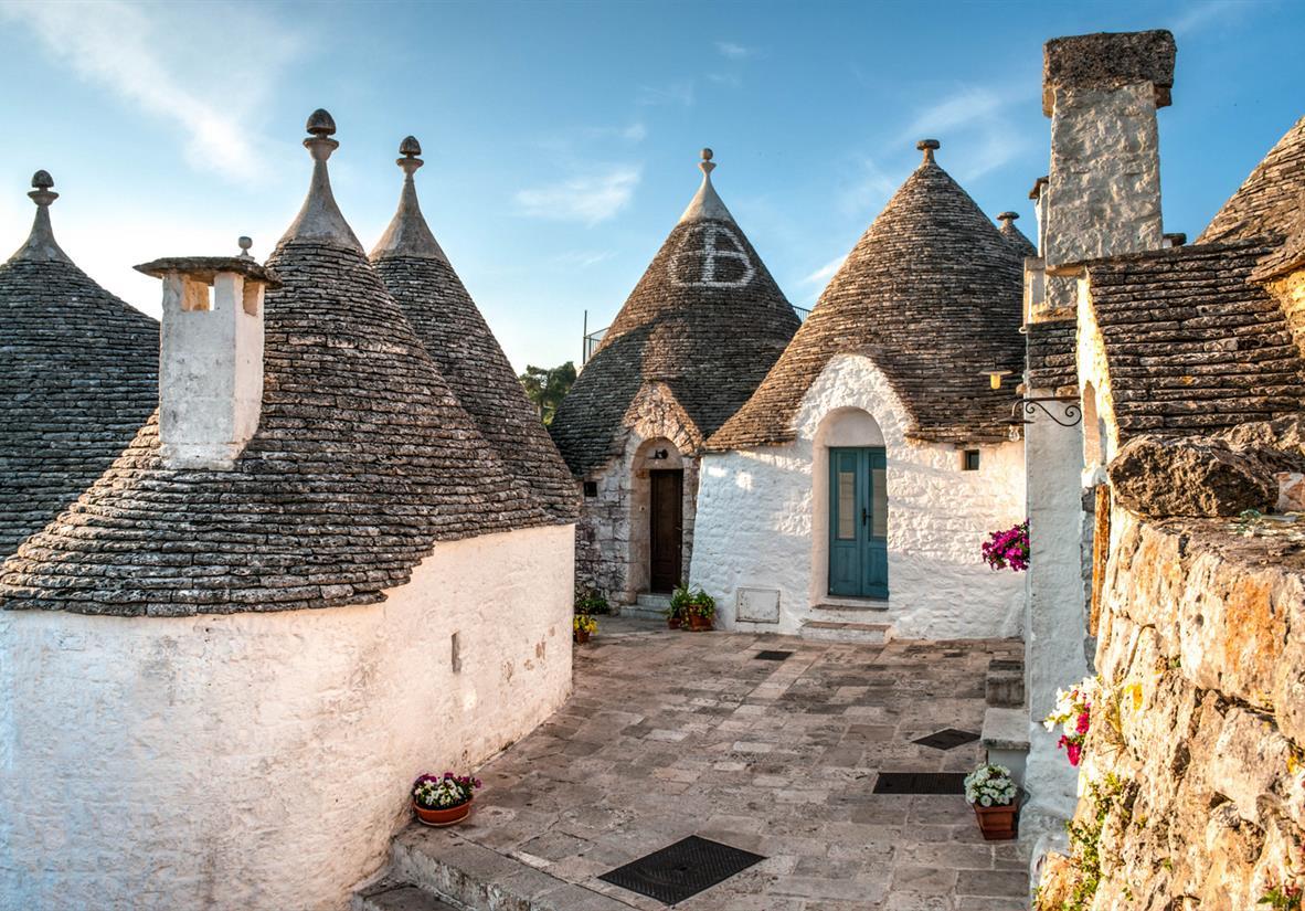 Alberobello's UNESCO Trulli houses