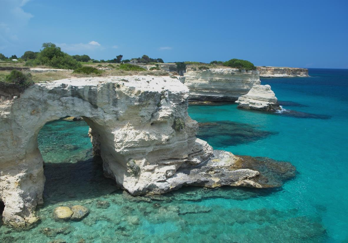 The bay of Torre dell'Orso