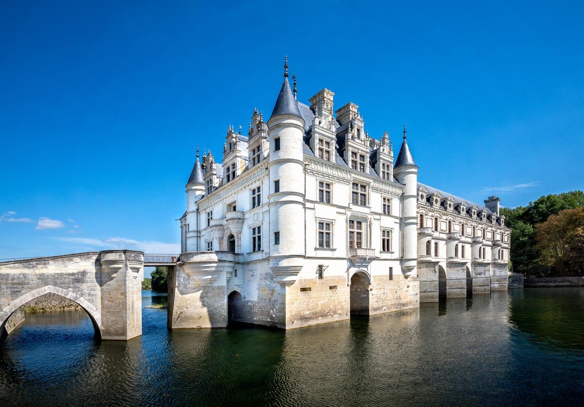 The fairytale Chateau de Chenonceau