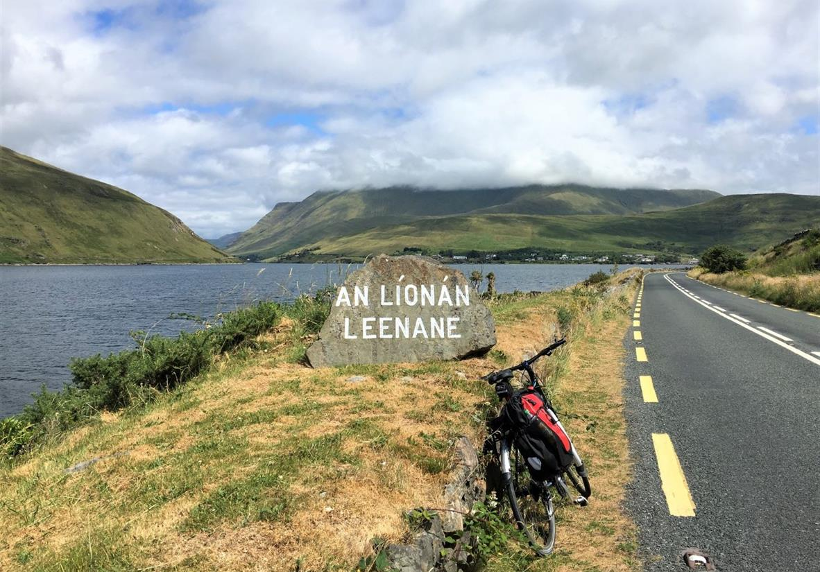 Approaching Leenane on the shores of Killary Fjord