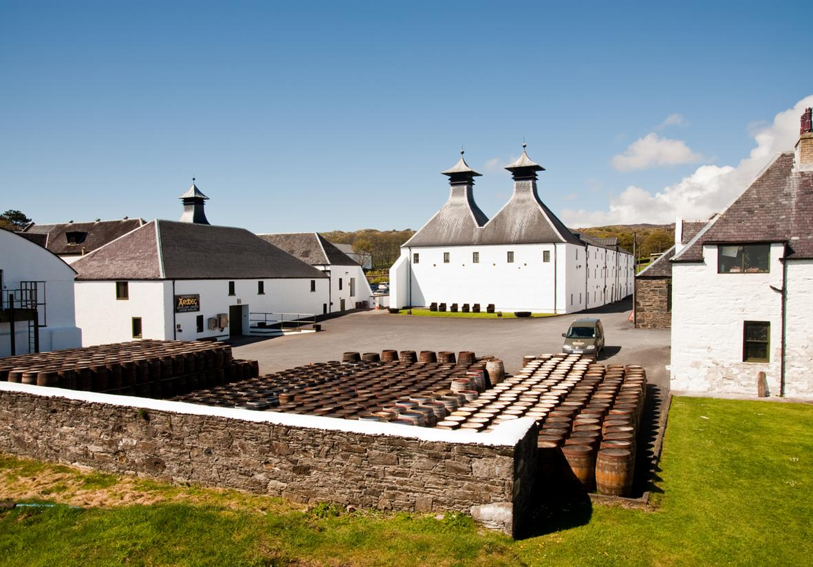 Why not visit Ardbeg and take a tour?
