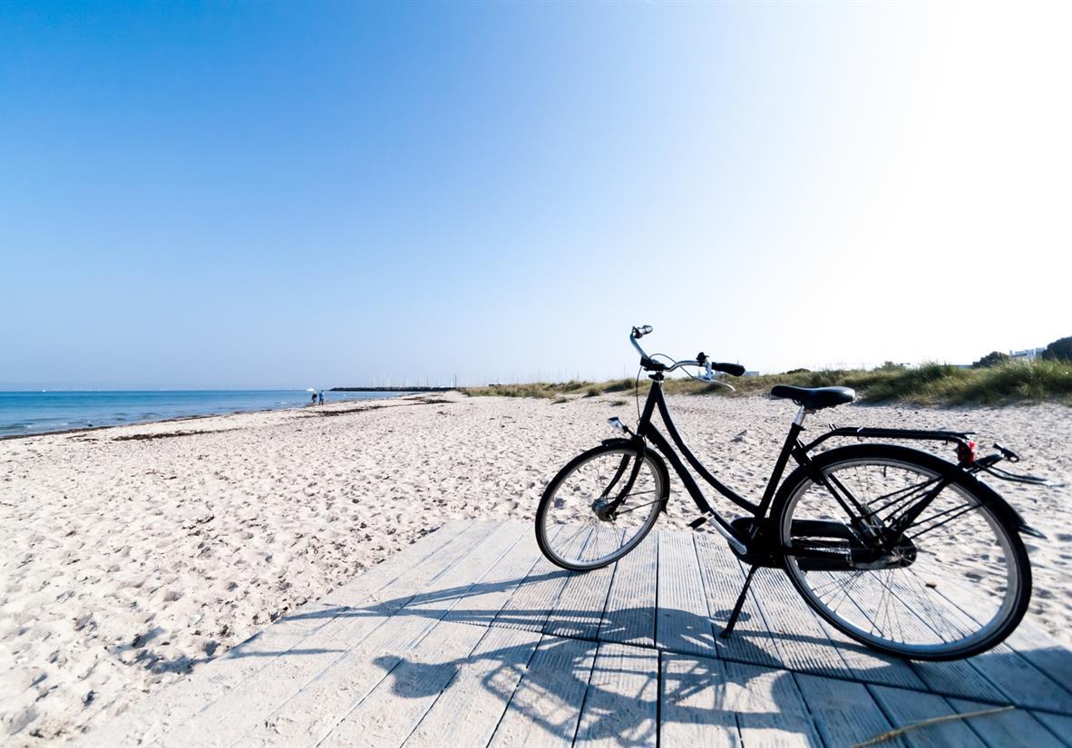 Marienlyst beach in Helsingor Den