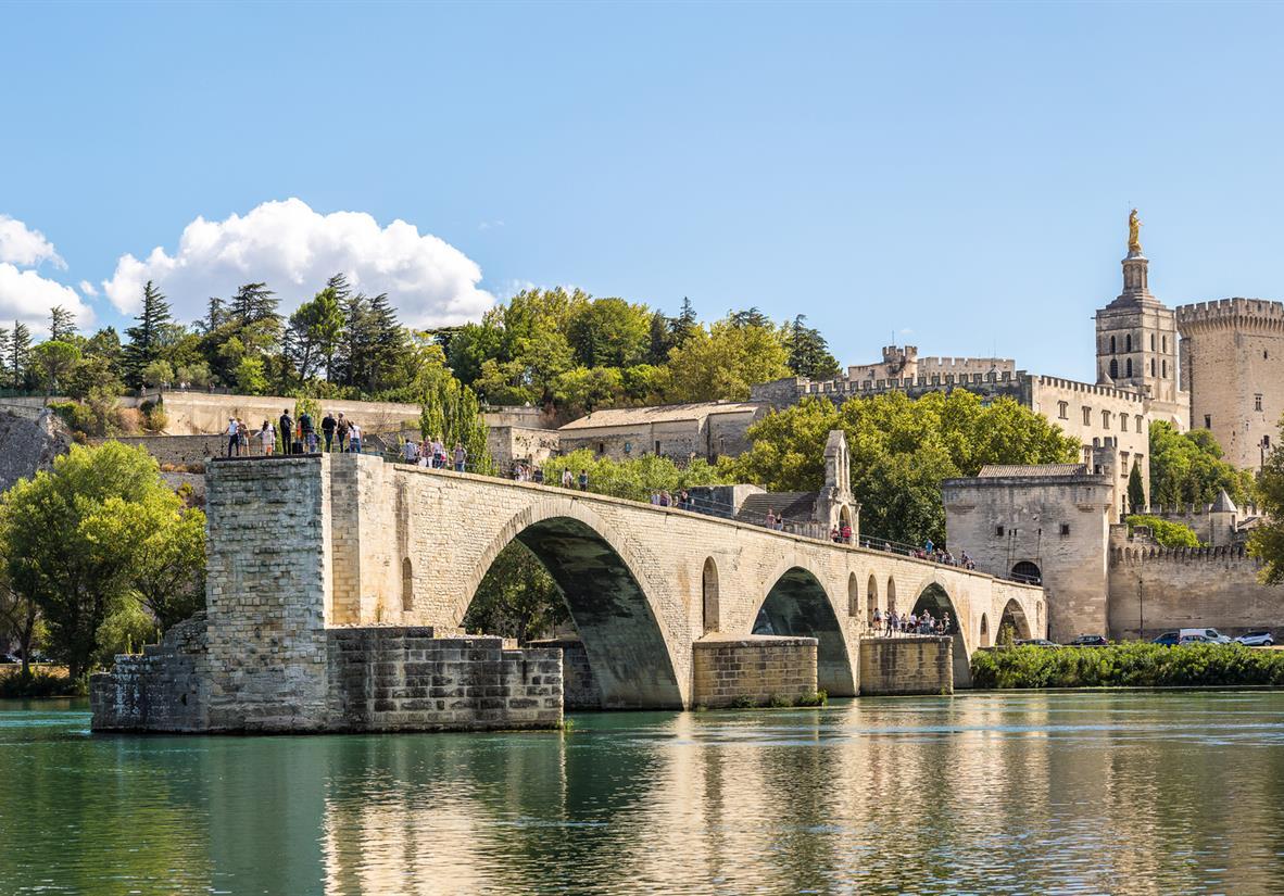 Saint Benezet Bridge in Avignon