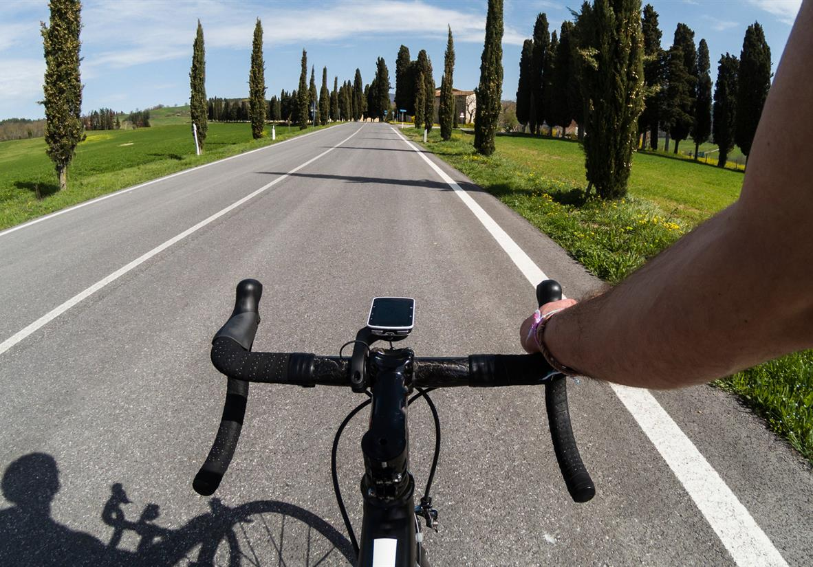 CyprESs-lined roads in Tuscany