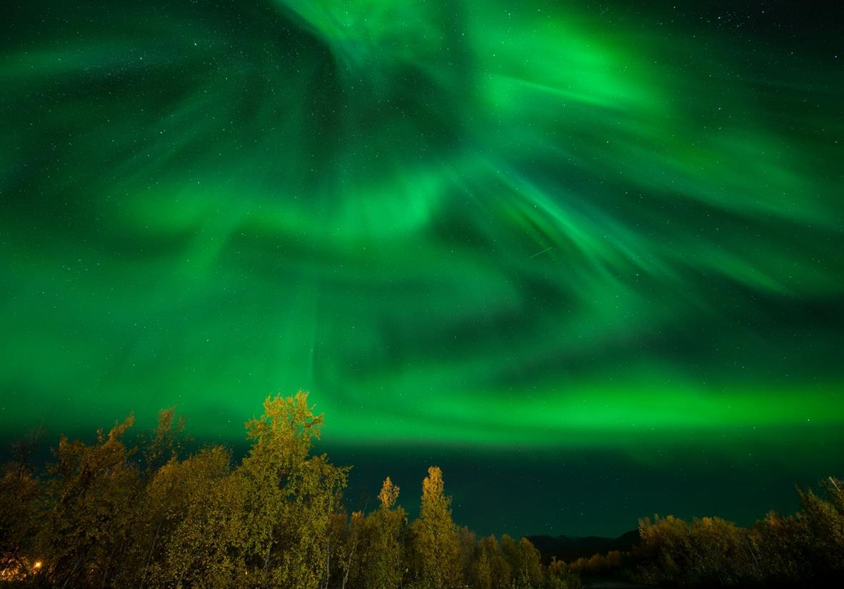Absorb the magical Aurora Northern Lights