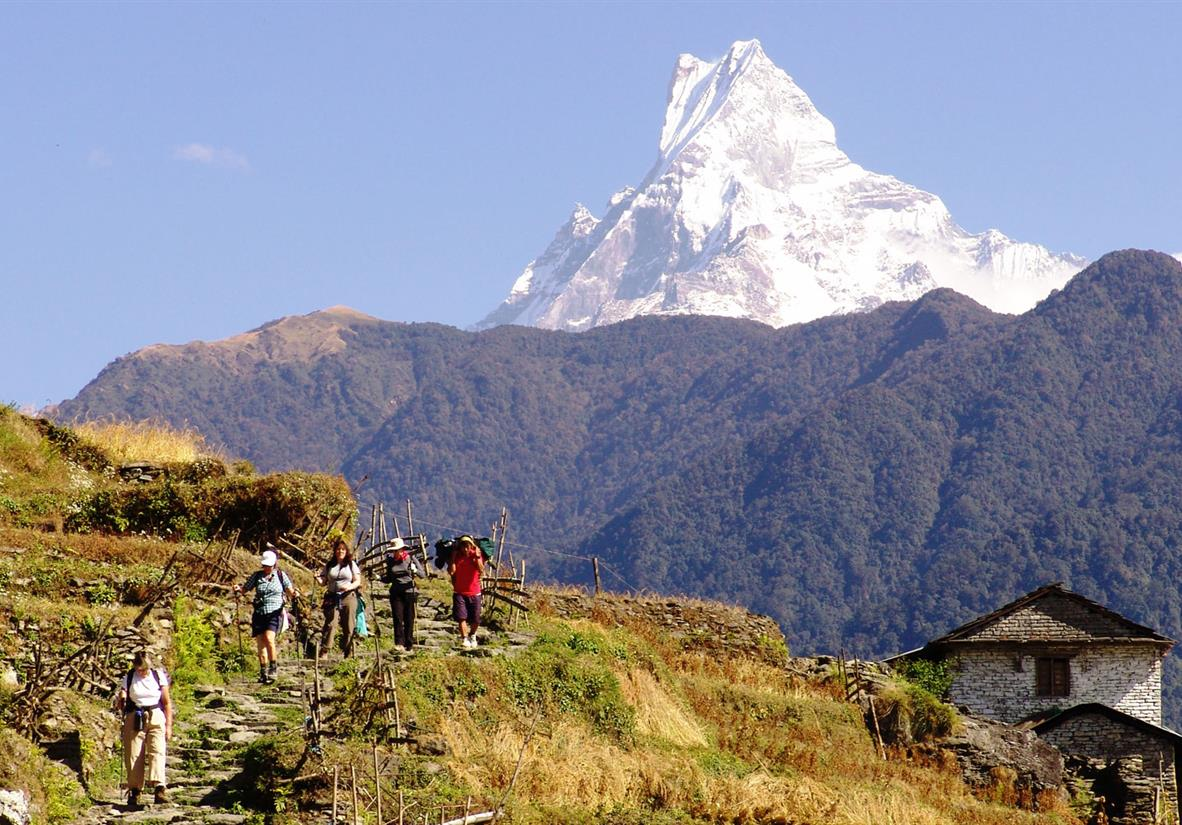 Annapurna and Everest Trekking in Style