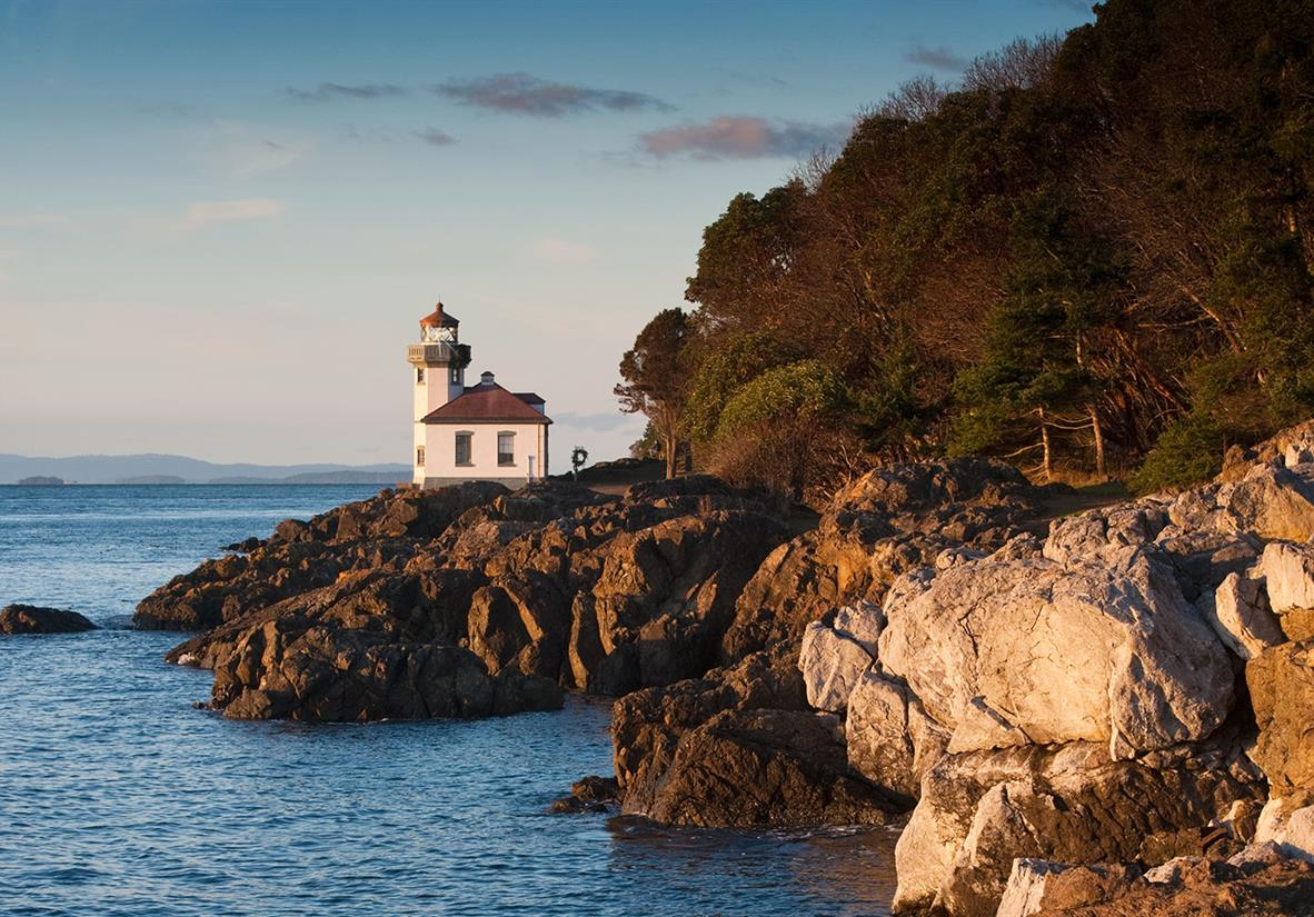 The islands are peppered with charming lighthouses