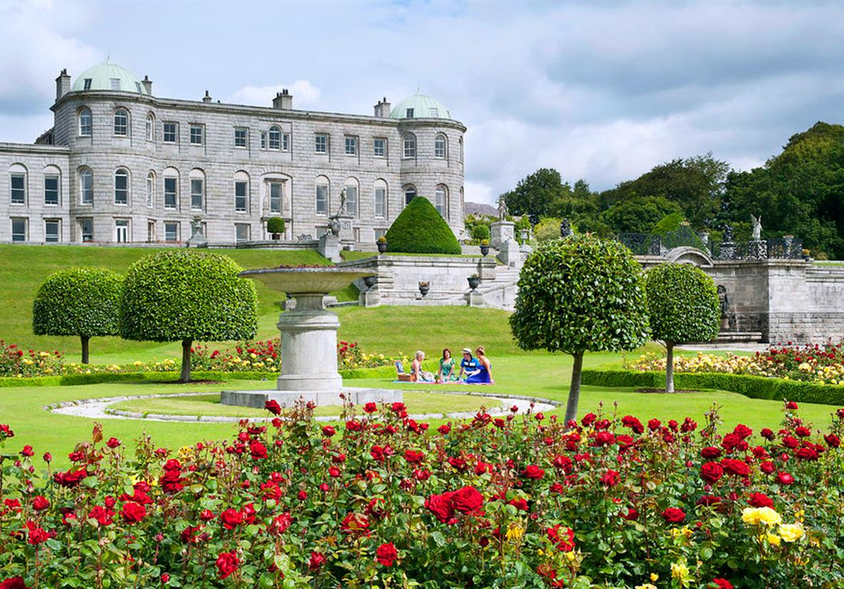 Magnificent Powerscourt House & Gardens