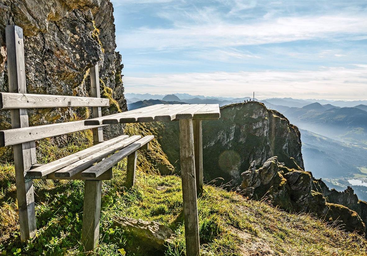 Luftiger Aussichtsplatz ©Vonier Peter