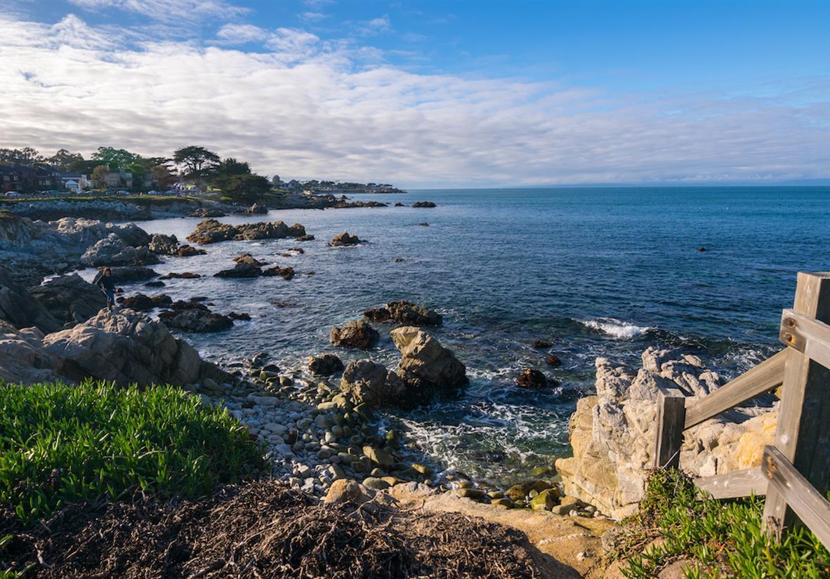 Enjoy the lovely Monterey Bay