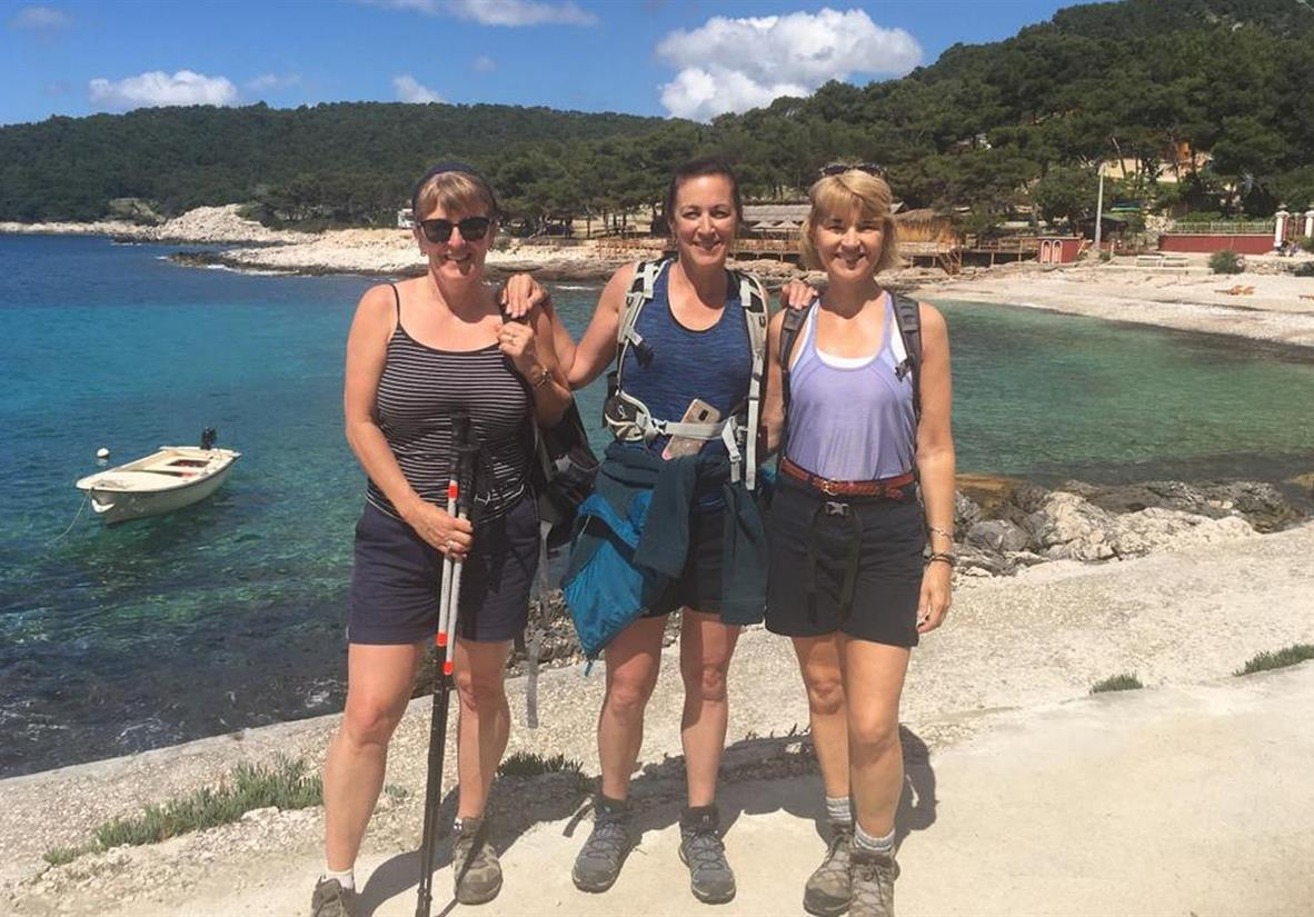 Walking the Dalmatian Coast