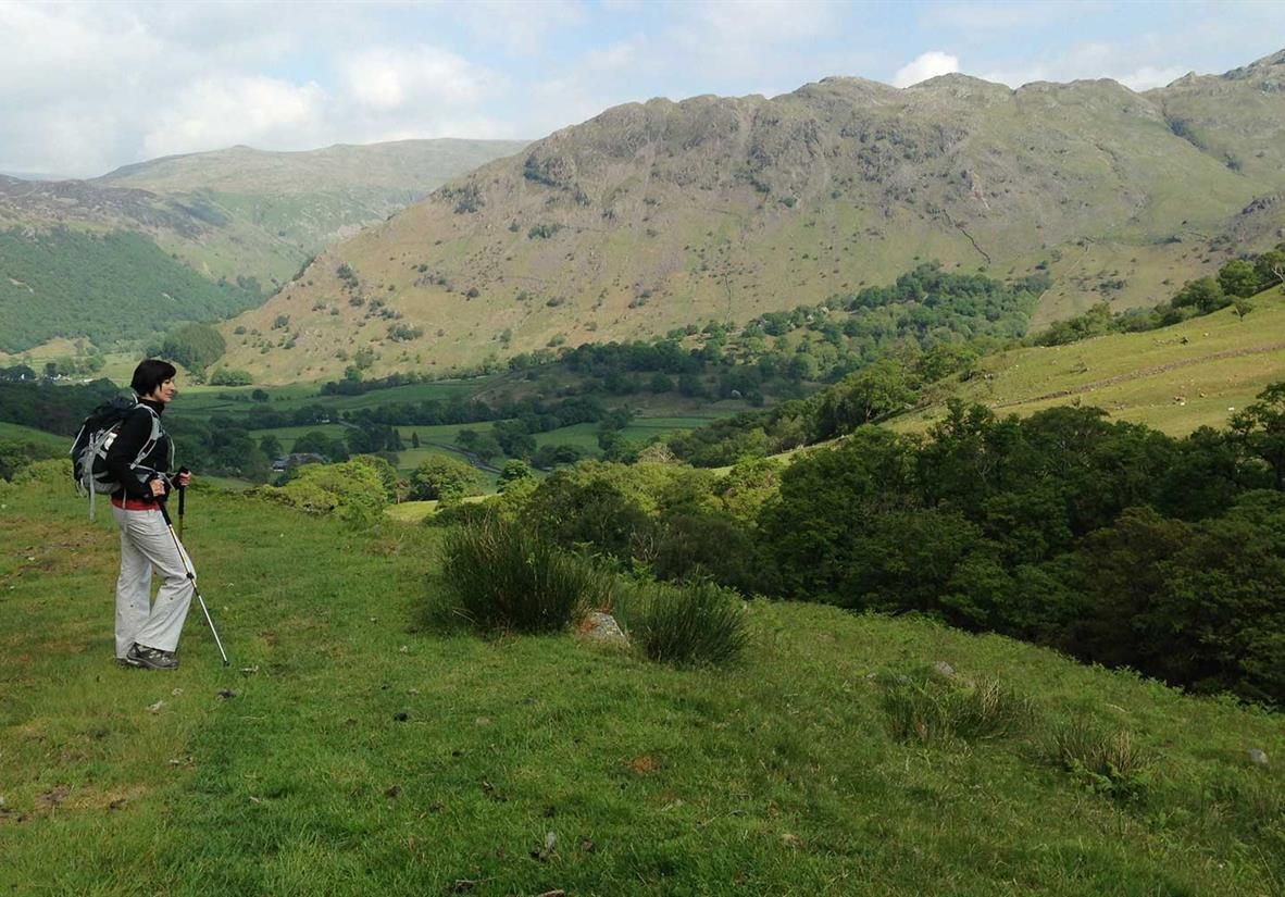 Blick in Richtung Borrowdale