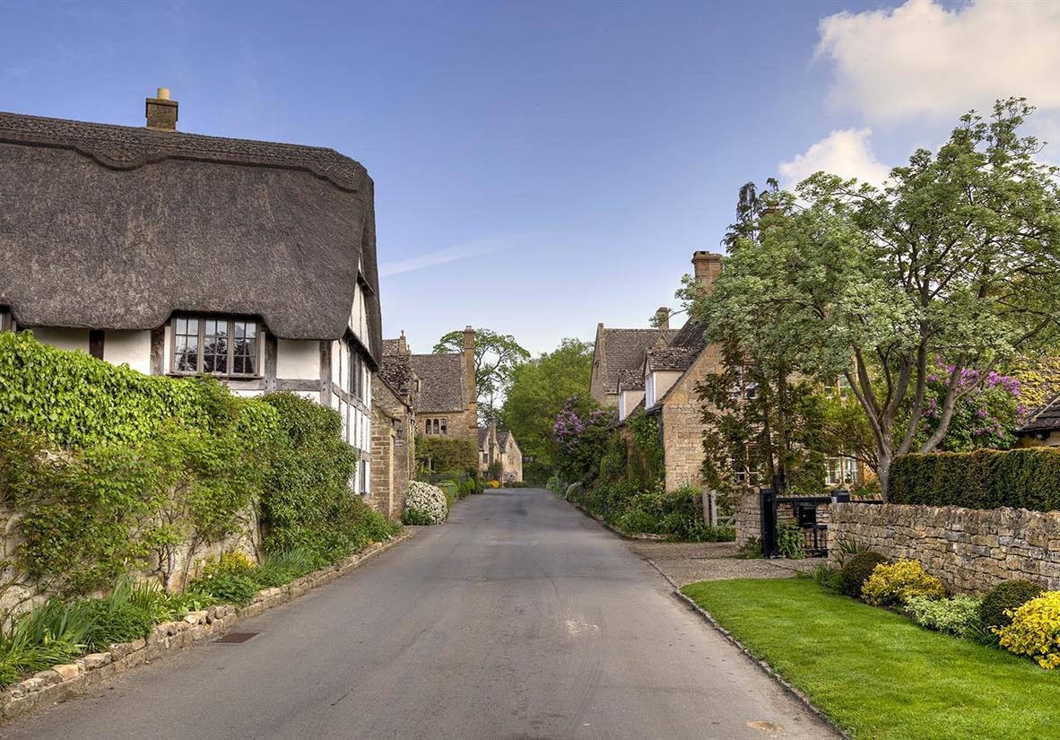 Beautiful cottages in Stanton