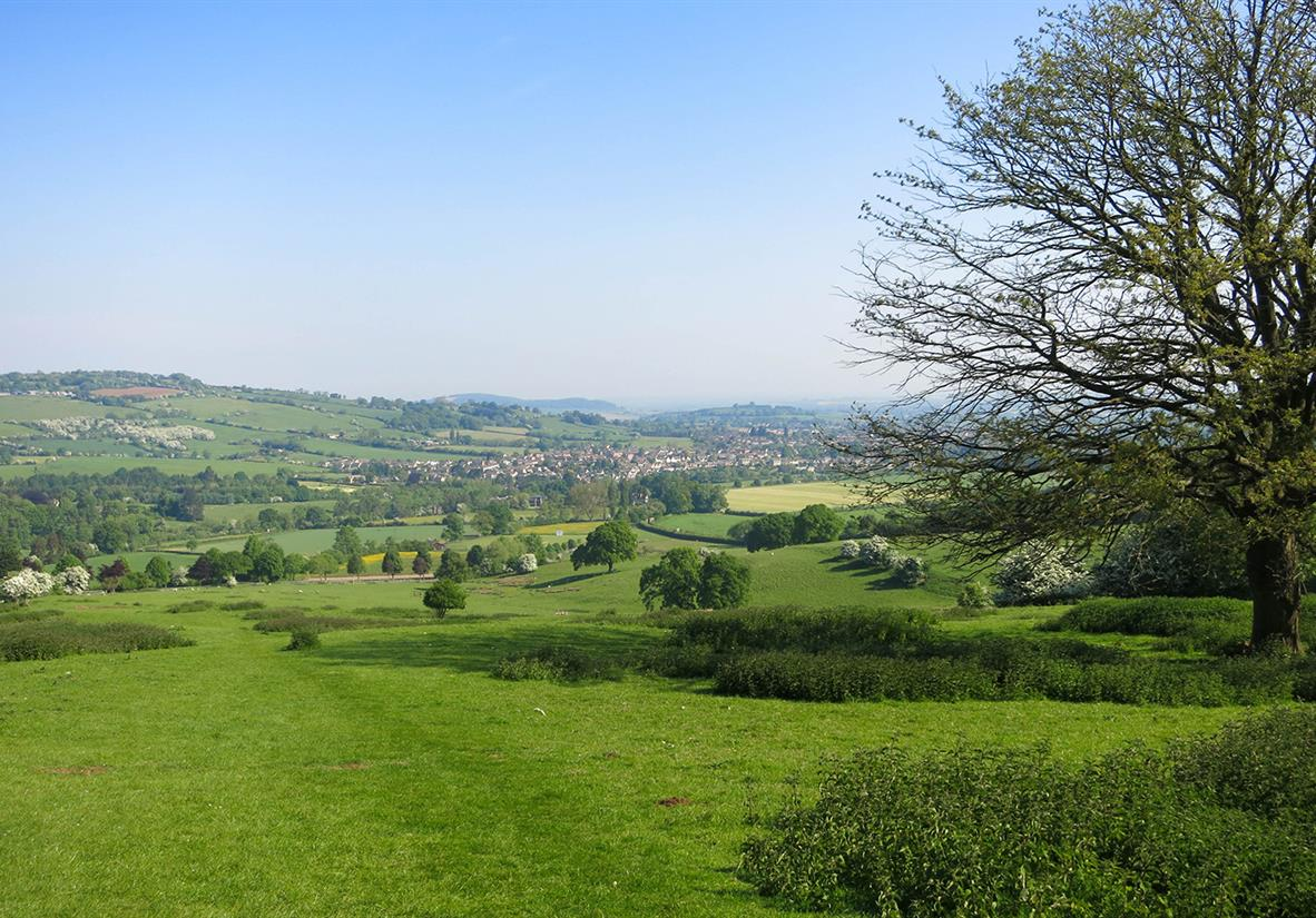 Views to Winchcombe