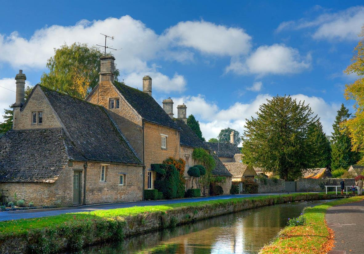 Bourton is known as the Venice of the Cotswolds