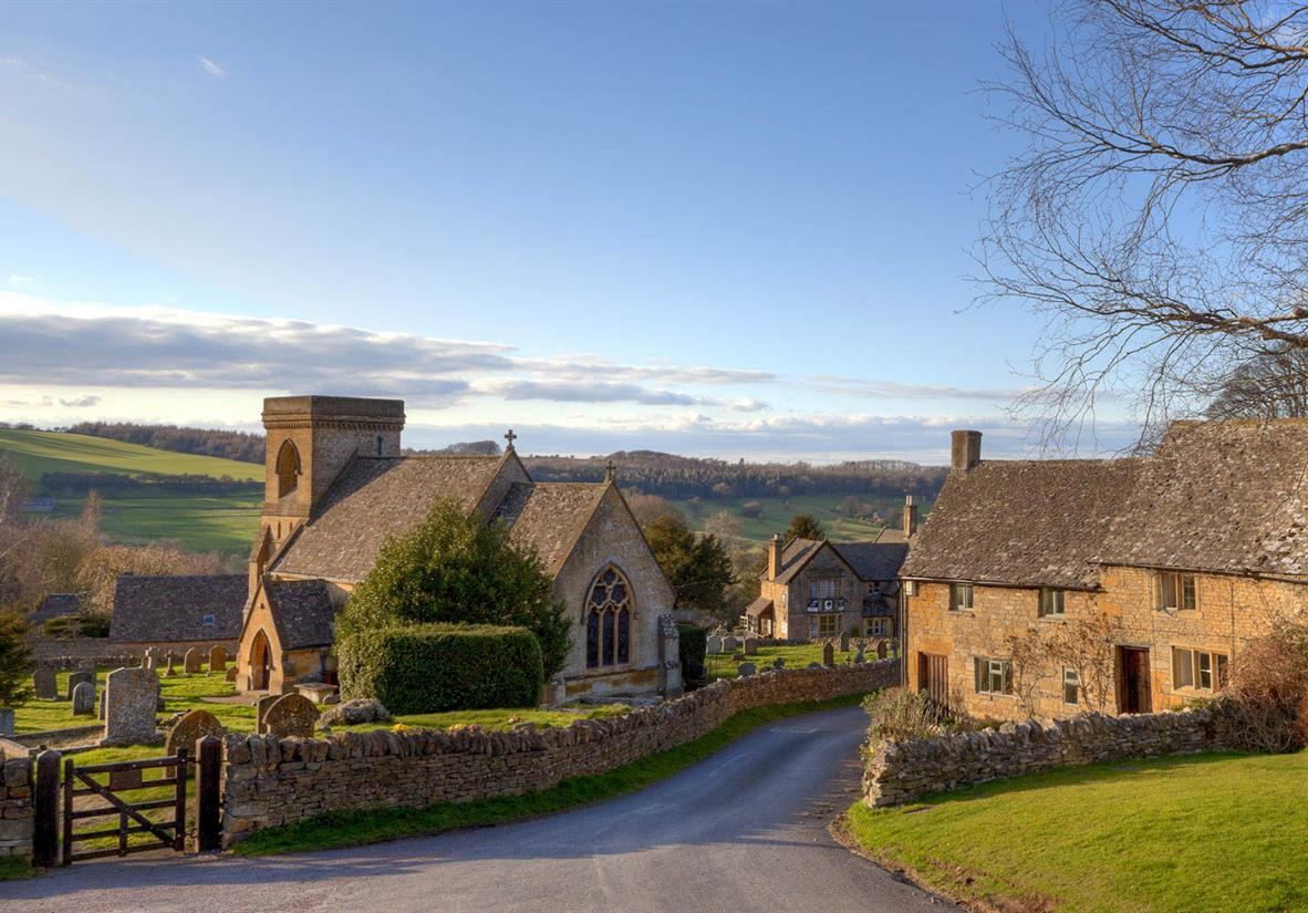 Honeyed Cotswold villages