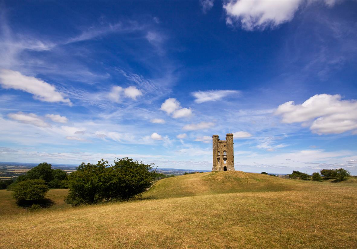 "The ""highest little castle"" in the Cotswolds"