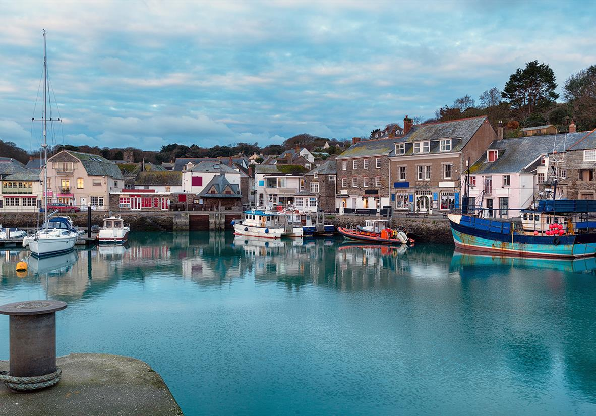 Padstow's picturesque harbour