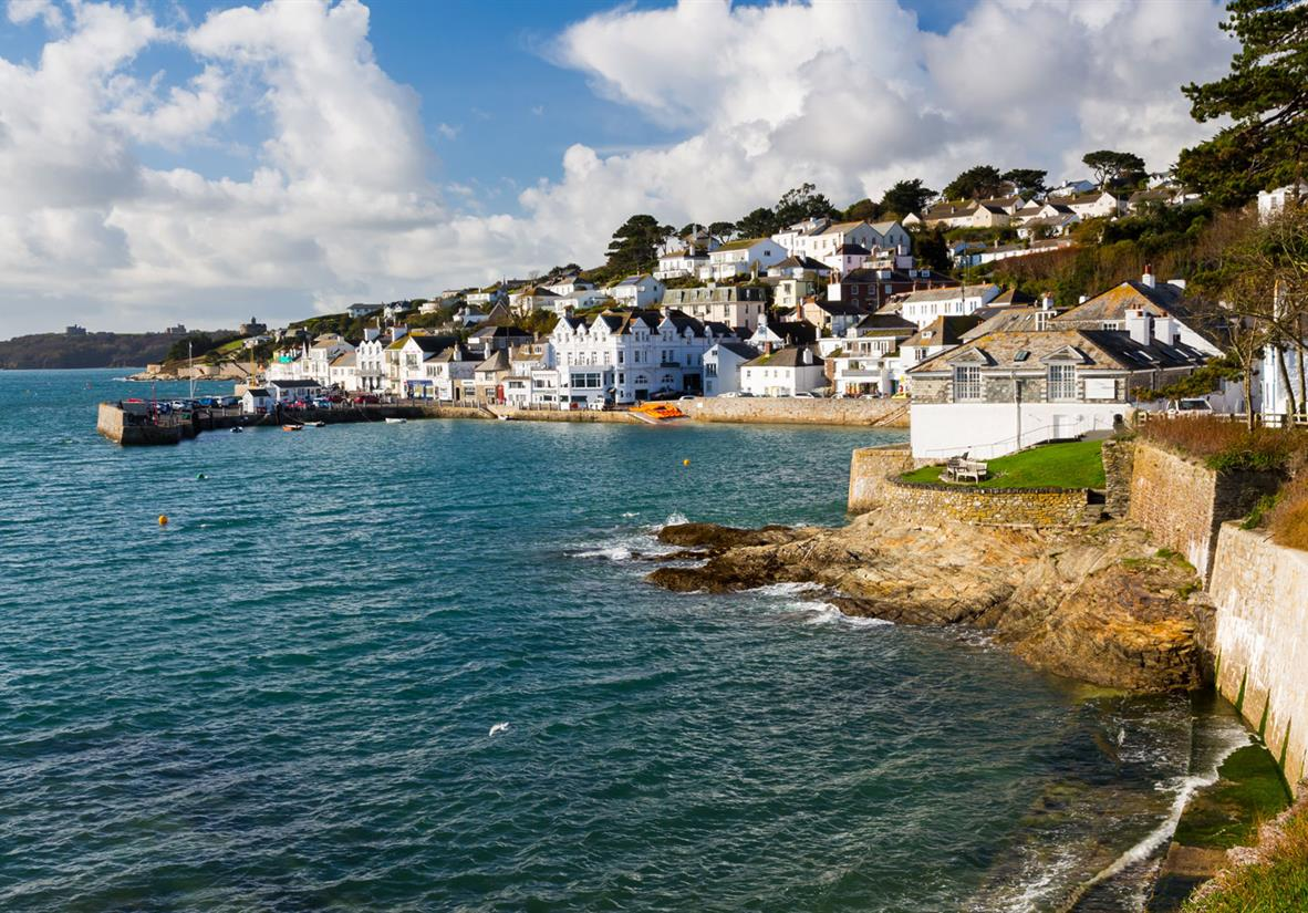 Pretty harbour of St Mawes