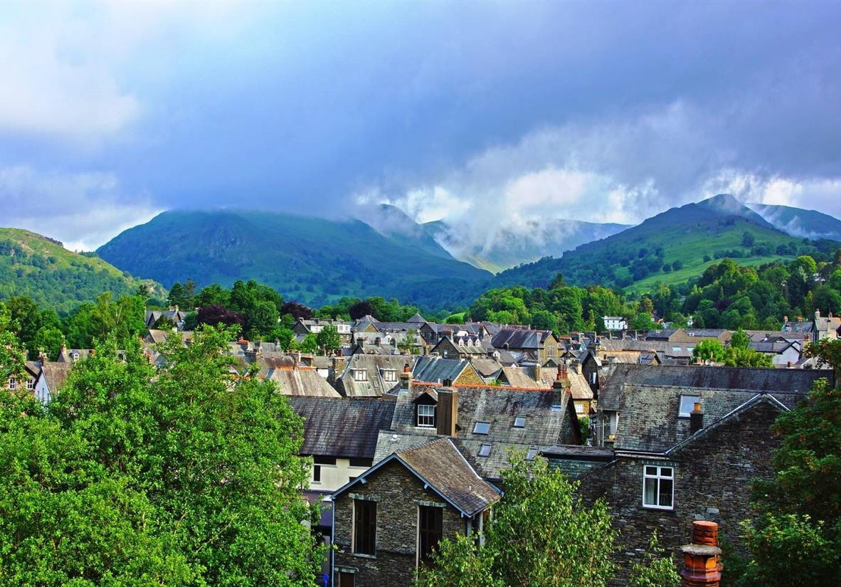 The charming Lake District town of Ambleside