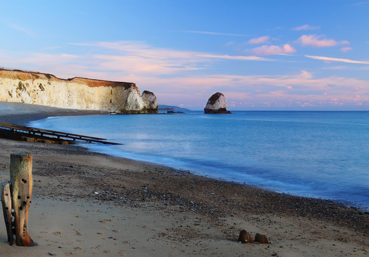 Freshwater Bay's quiet beach