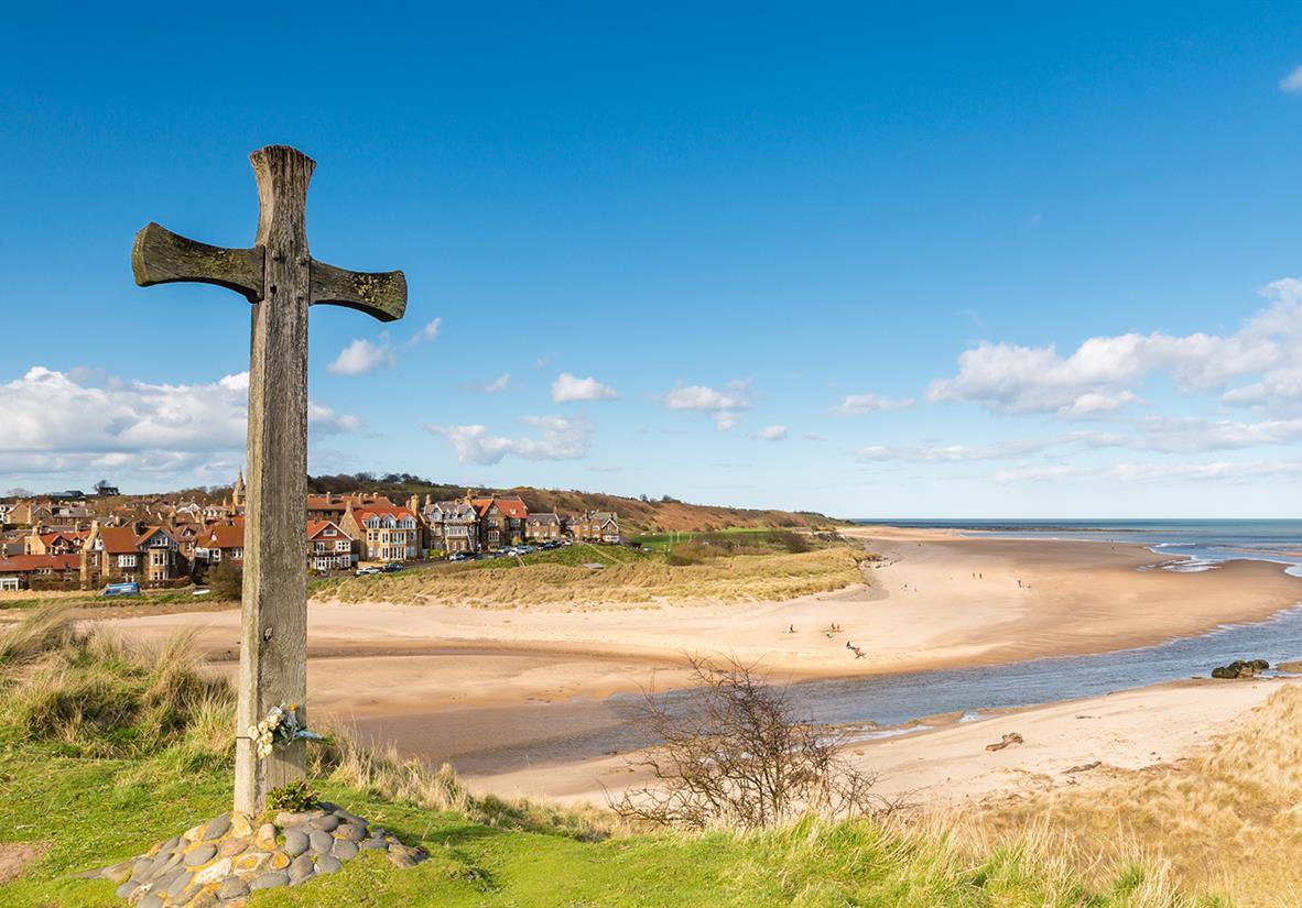 The beautiful Northumberland Coast
