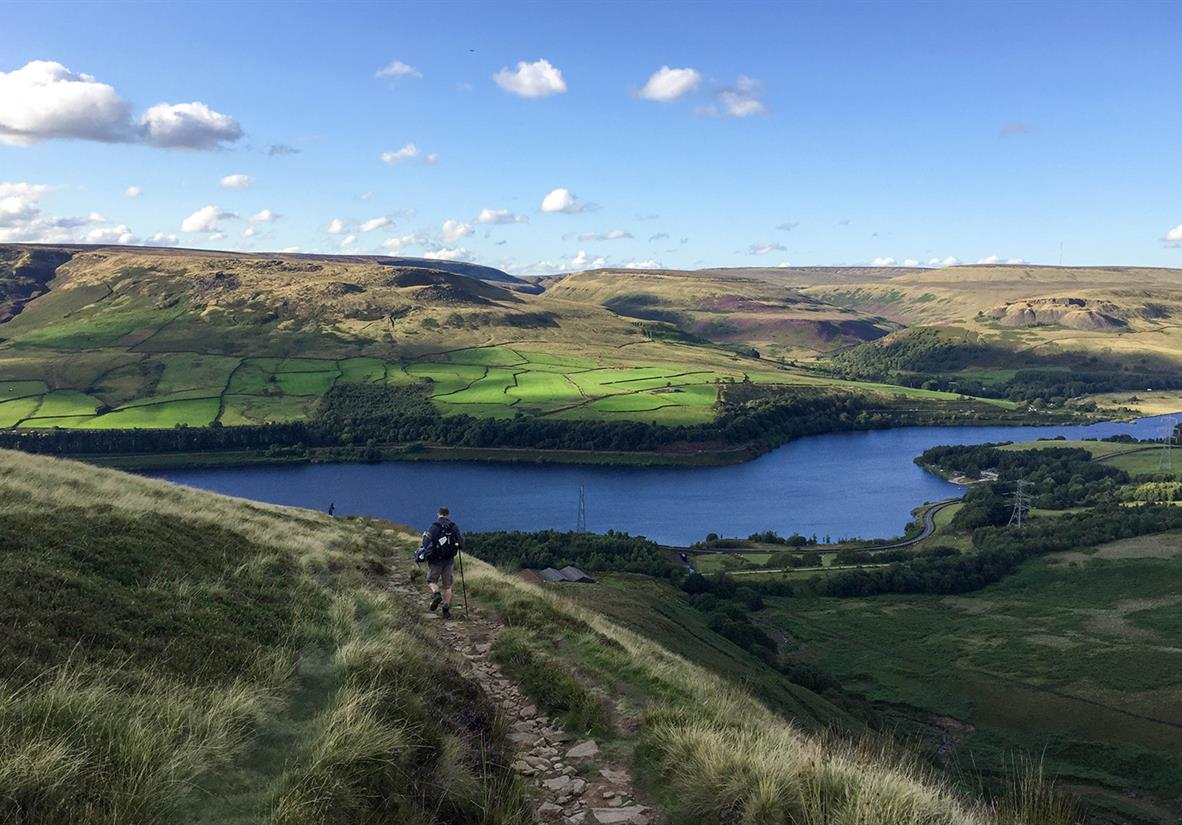 Walk Britain's first designated national trail