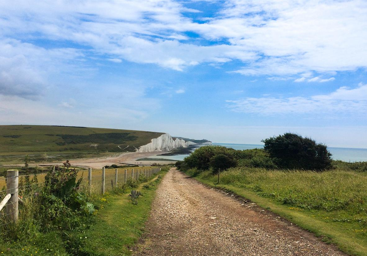The Walk down to the Seven Sisters