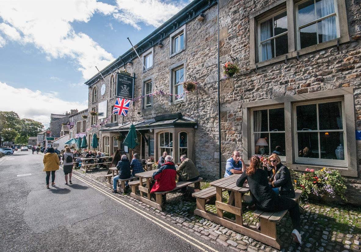 Relax in the charming town of Grassington
