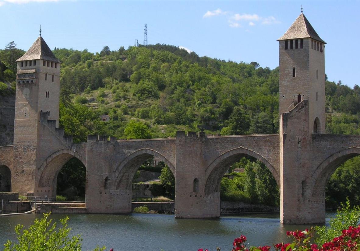 Medieval bridge in Cahors