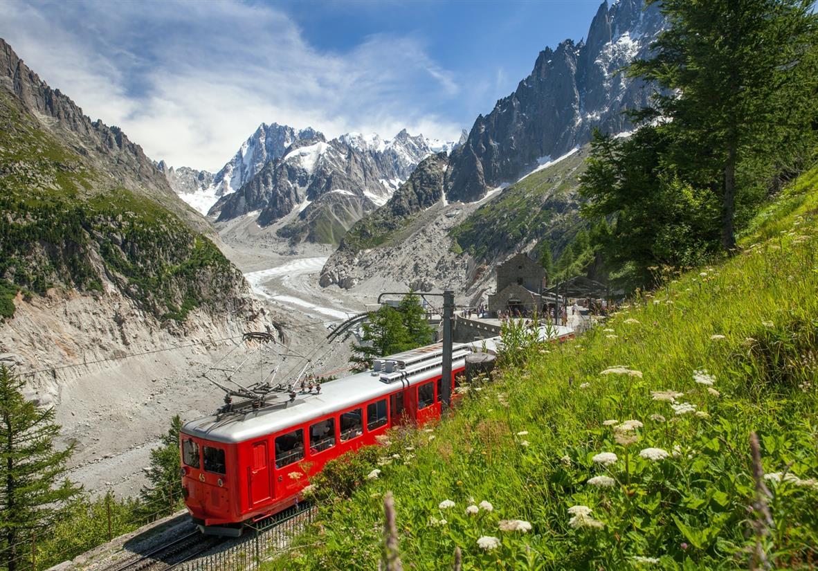The Montenvers train