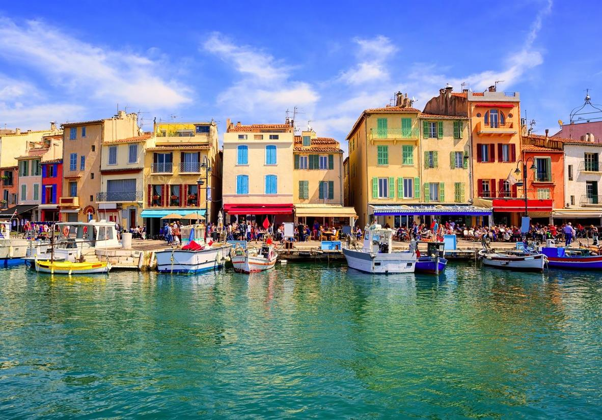 The Colourful Port de Cassis