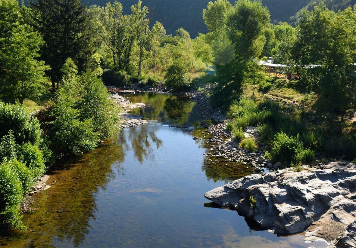 Beautiful River Tarn reflections